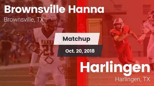 Football Game Recap: Harlingen vs. Hanna