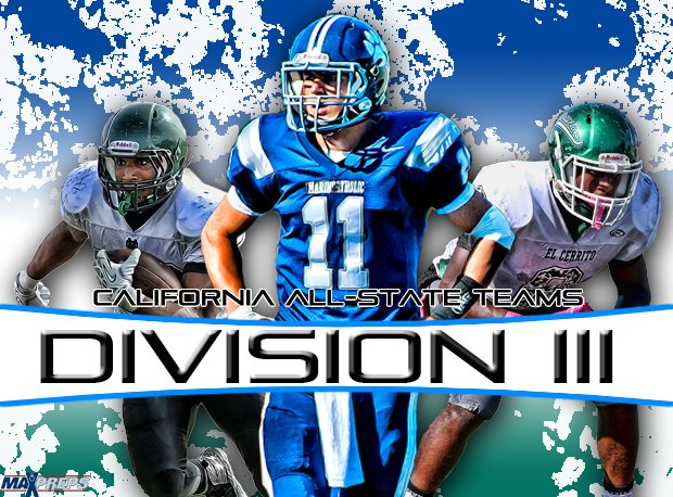 MaxPreps is proud to announce the 2013 California Division III All-State Teams.