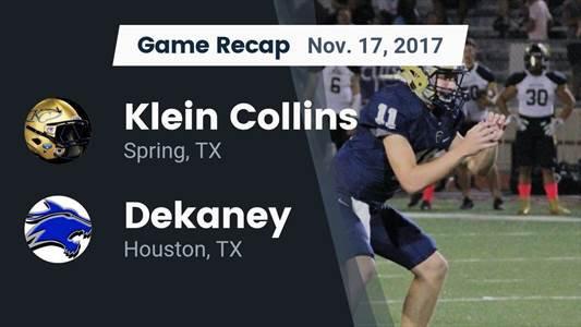 Football Game Recap: Klein Collins vs. Longview