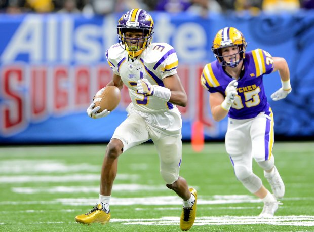 Devonta Smith helped Amite reach Louisiana's Class 3A state title game.