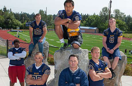 At 12-0, Bellevue has a solid hold on the No. 1 spot in the medium schools rankings.