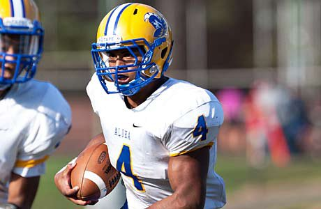 Thomas Tyner received national attention last week when he ran for 643 yards and 10 touchdowns in a win against Lakeridge.