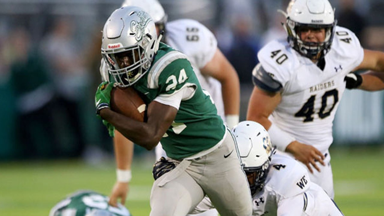 Shamar Garrett led De La Salle to another CIF Open Championship game in 2019.