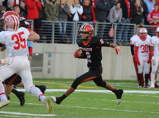 Wheelersburg's Tanner Holden was first team All-Ohio in both football and basketball last season.