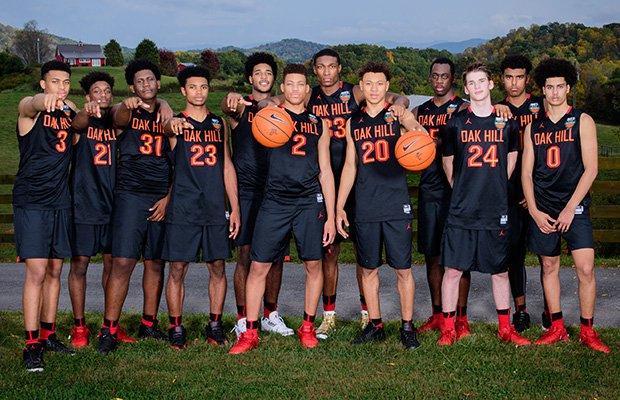 2017-18 Oak Hill Academy basketball squad