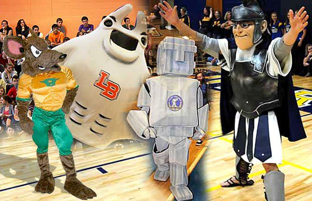 Some of the fun on Halloween is checking out other peoples' great costume ideas. We're taking a little different approach: We found 19 mascot costumes that would be spectacular choices on Halloween.