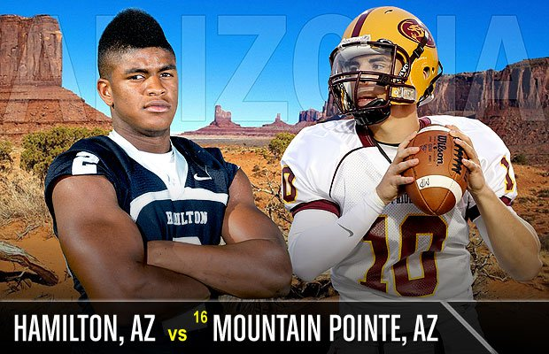 The top game of the week will take place in the desert, as Arizona gets a repeat of last season's Division I title game.