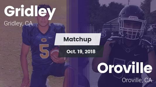 Football Game Recap: Gridley vs. Oroville