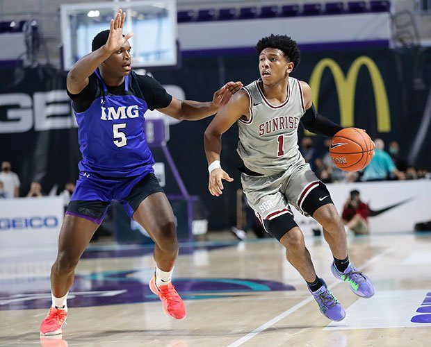 Kennedy Chandler scored a game-high 25 in Sunrise Christian Academy's 70-63 win Friday over IMG Academy.