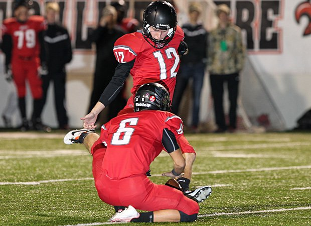 Cole Hedlund of Argyle (Texas) now holds the national career field goals record.