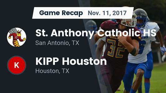 Football Game Preview: St. Anthony vs. KIPP Sunnyside