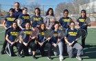 Highland Hornets Girls Varsity Tennis Spring 18-19 team photo.
