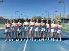 Albuquerque Bulldogs Girls Varsity Tennis Spring 18-19 team photo.