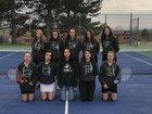 George Washington Patriots Girls Varsity Tennis Spring 18-19 team photo.