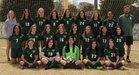 Episcopal Wildcats Girls Varsity Soccer Spring 18-19 team photo.