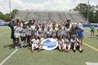 Dacula Falcons Girls Varsity Soccer Spring 18-19 team photo.