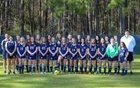Brookwood Warriors Girls Varsity Soccer Spring 18-19 team photo.