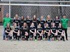 North Stokes Vikings Girls Varsity Soccer Spring 18-19 team photo.