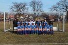 Mather Rangers Girls Varsity Soccer Spring 18-19 team photo.