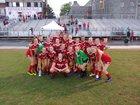 Hendersonville Bearcats Girls Varsity Soccer Spring 18-19 team photo.