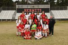 Hermitage Hermits Girls Varsity Soccer Spring 18-19 team photo.