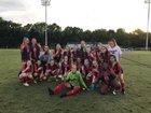 Union Academy Cardinals Girls Varsity Soccer Spring 18-19 team photo.