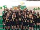 Greene County Tech Golden Eagles Girls Varsity Soccer Spring 18-19 team photo.