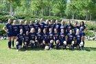 Franklin Academy Patriots Girls Varsity Soccer Spring 18-19 team photo.