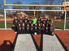 Malvern Leopards Girls Varsity Soccer Spring 18-19 team photo.