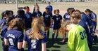 James Irwin Jaguars Girls Varsity Soccer Spring 18-19 team photo.