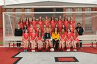 Cabot Panthers Girls Varsity Soccer Spring 18-19 team photo.