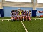Southside Mavericks Girls Varsity Soccer Spring 18-19 team photo.