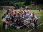 Mountain Island Charter Raptor Girls Varsity Soccer Spring 18-19 team photo.