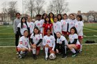 Amundsen Vikings Girls Varsity Soccer Spring 18-19 team photo.