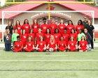 Arkansas Razorbacks Girls Varsity Soccer Spring 18-19 team photo.
