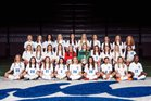 Conway Wampus Cats Girls Varsity Soccer Spring 18-19 team photo.
