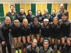Elk Grove Grenadiers Girls Varsity Soccer Spring 18-19 team photo.
