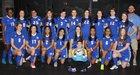 Arkadelphia Badgers Girls Varsity Soccer Spring 18-19 team photo.