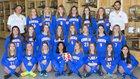 Cherry Creek Bruins Girls Varsity Soccer Spring 18-19 team photo.