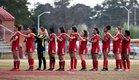 Seventy-First Falcons Girls Varsity Soccer Spring 18-19 team photo.