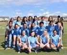 Vista PEAK Prep Bison Girls Varsity Soccer Spring 18-19 team photo.