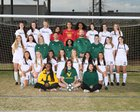 Spring Valley Vikings Girls Varsity Soccer Spring 18-19 team photo.