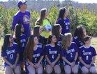 Oxford Preparatory Griffins Girls Varsity Soccer Spring 18-19 team photo.