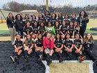 Hot Springs Trojans Girls Varsity Soccer Spring 18-19 team photo.