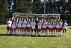 Hartsville Red Foxes Girls Varsity Soccer Spring 18-19 team photo.