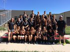 Dolores Bears Girls Varsity Track & Field Spring 17-18 team photo.