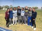 Dexter Demons Girls Varsity Track & Field Spring 17-18 team photo.