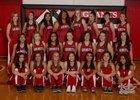 Grants Pirates Girls Varsity Track & Field Spring 17-18 team photo.