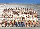 Mayfield Trojans Girls Varsity Track & Field Spring 17-18 team photo.