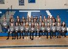 Silver Fighting Colts Girls Varsity Track & Field Spring 17-18 team photo.